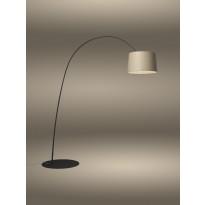 LAMPADAIRE TWIGGY WOOD LED, MyLight, Structure noire de FOSCARINI