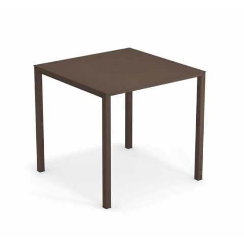 table urban emu marron d'inde