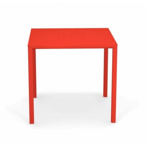 table urban emu rouge écarlate
