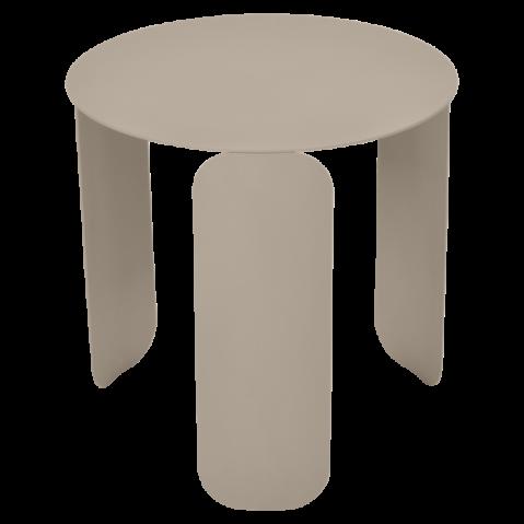 TABLE BASSE BEBOP DE FERMOB, D.45, MUSCADE
