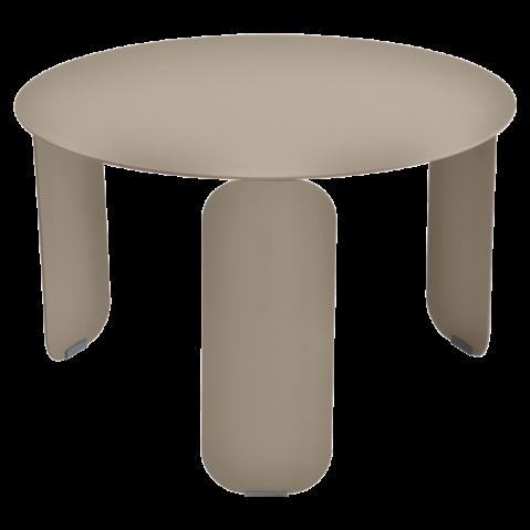 Table basse BEBOP de Fermob, D. 60, Muscade