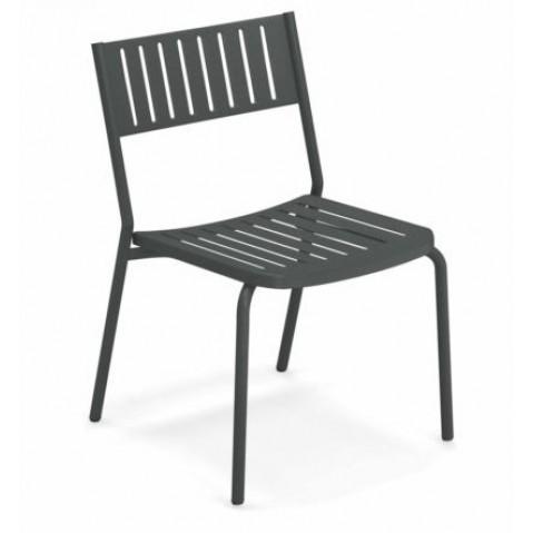 chaise bridge emu fer ancien