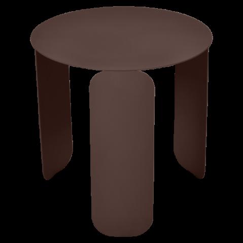 TABLE BASSE BEBOP DE FERMOB, D.45, ROUILLE