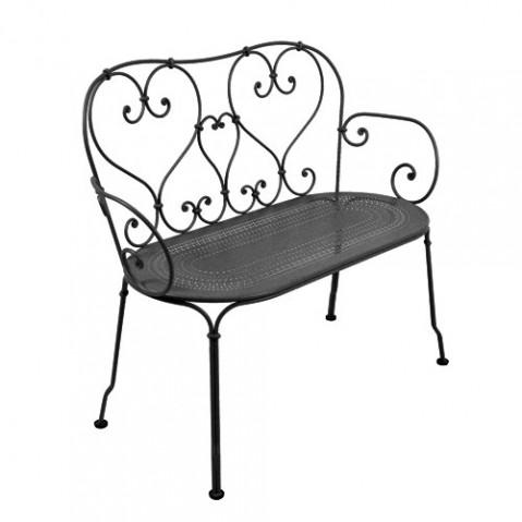 1900 Banquette Design Fermob Noir