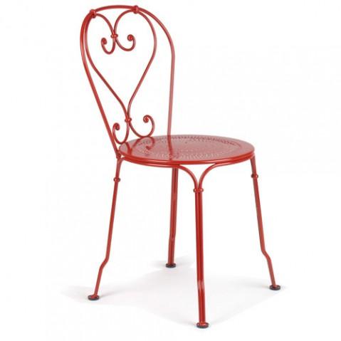 1900 Chaise Design Fermob Coquelicot