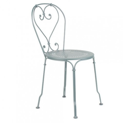 1900 Chaise Design Fermob Gris Metal