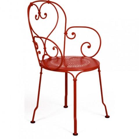 1900 fauteuil fermob piment d espelette