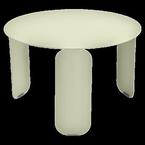 Table basse BEBOP de Fermob, D. 60, Tilleul