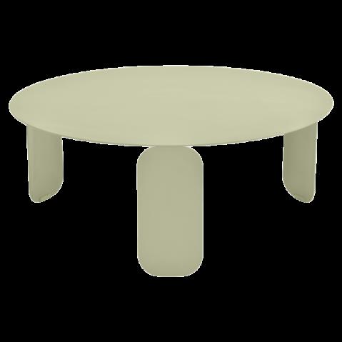 Table basse BEBOP de Fermob, D. 80, Tilleul
