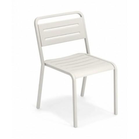 chaise urban emu blanc mat