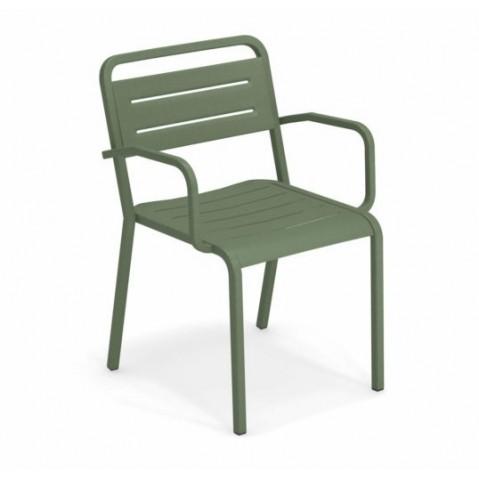 fauteuil urban emu vert militaire