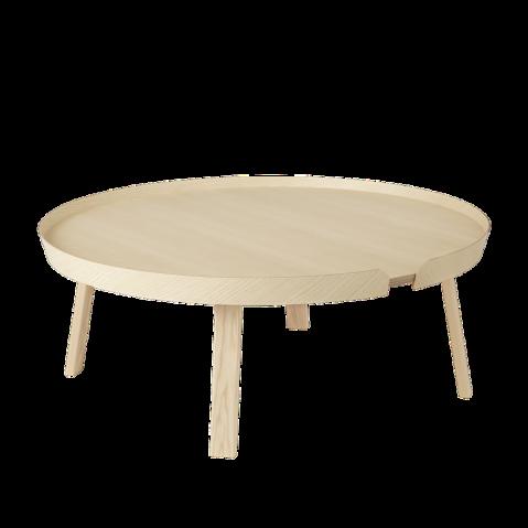 TABLE BASSE AROUND 95CM FRÊNE de MUUTO