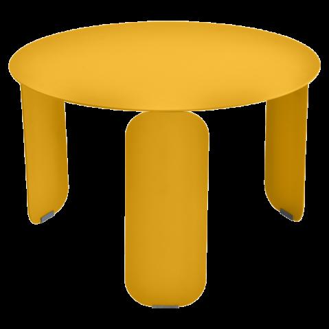 Table basse BEBOP de Fermob, D. 60, Miel