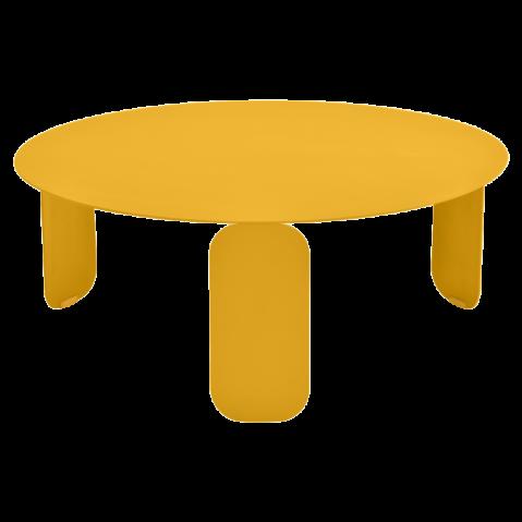 Table basse BEBOP de Fermob, D. 80, Miel