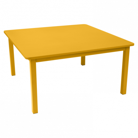 TABLE CRAFT 143X143CM, 23 couleurs de FERMOB