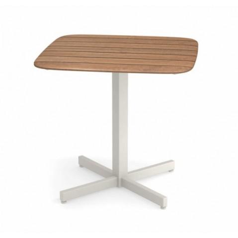 TABLE 79X79CM SHINE, 4 couleurs de EMU