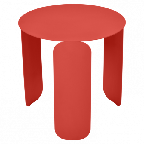 Table basse BEBOP de Fermob, D. 45, Capucine