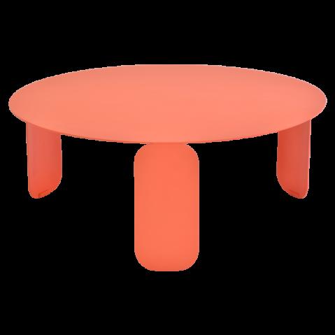 Table basse BEBOP de Fermob, D. 80, Capucine
