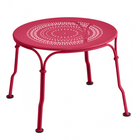 TABLE BASSE 1900 ROSE PRALINE de FERMOB