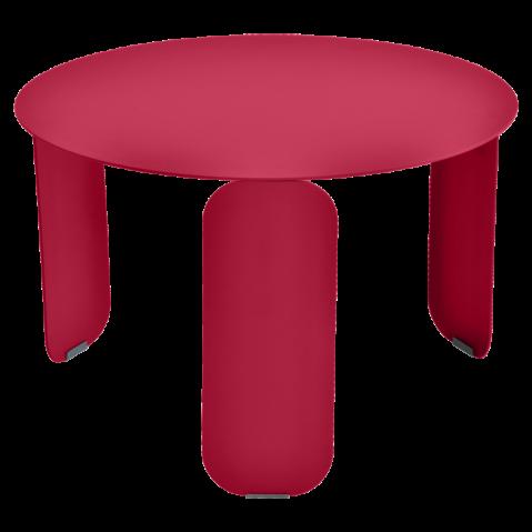 Table basse BEBOP de Fermob, D. 60, Rose praline