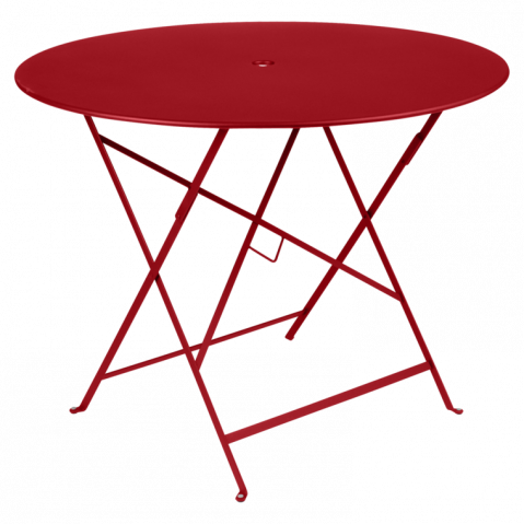 TABLE PLIANTE BISTRO 96CM, 23 couleurs de FERMOB