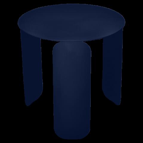 Table basse BEBOP de Fermob, D. 45, Bleu abysse