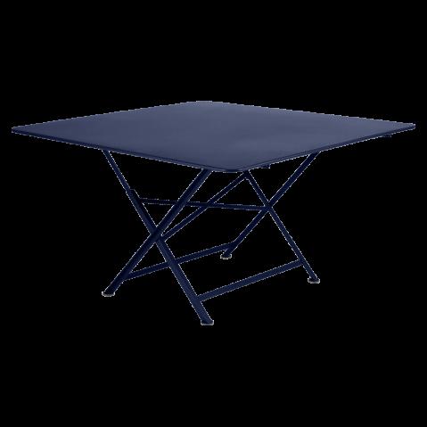 TABLE PLIANTE CARGO 130 X 130 CM, Bleu abysse de FERMOB