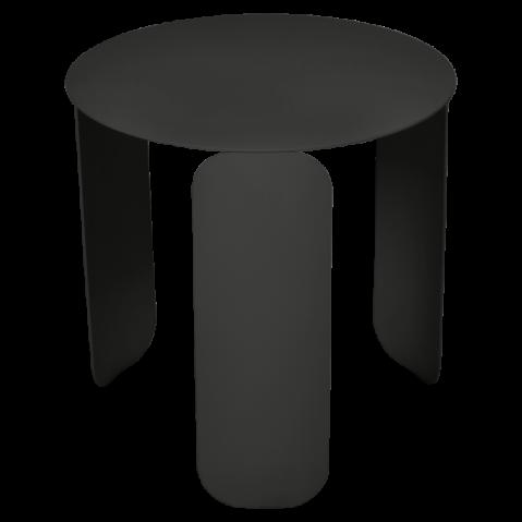TABLE BASSE BEBOP DE FERMOB, D.45, RÉGLISSE