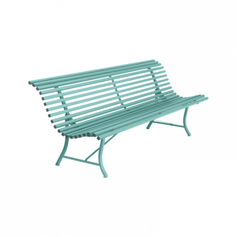 BANC LOUISIANE 200 CM, 23 couleurs de FERMOB
