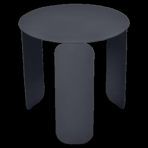 TABLE BASSE BEBOP DE FERMOB, D.45, CARBONE