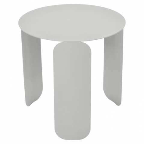 Table basse BEBOP de Fermob, D. 45, Gris métal