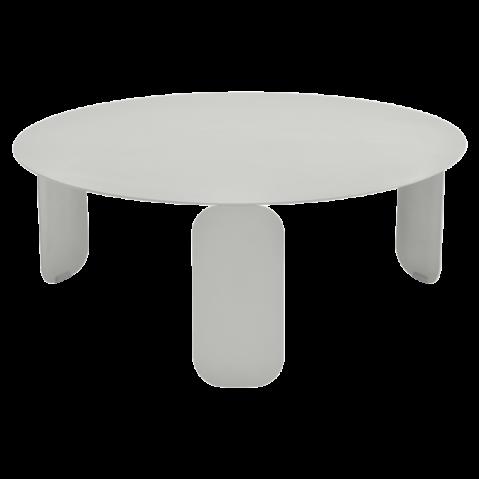 Table basse BEBOP de Fermob, D. 80, Gris métal