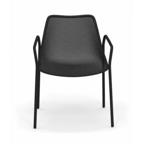 fauteuil round emu noir