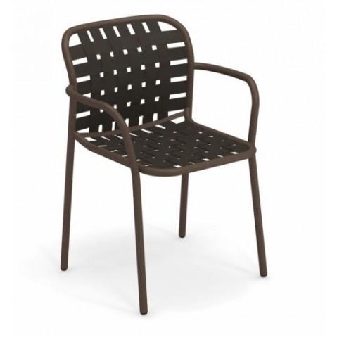 fauteuil yard emu marron