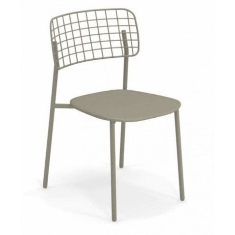chaise lyze emu gris vert