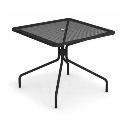 table carree cambi 90 emu noir