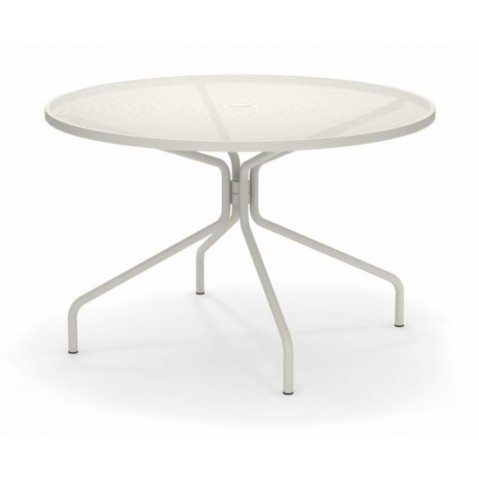 table ronde cambi 120 emu blanc