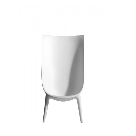 FAUTEUIL HAUT OUT/IN, Blanc de DRIADE