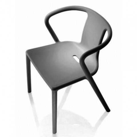Air Armchair Fauteuil design Magis Anthracite