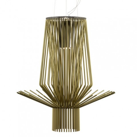 Allegretto Assai Suspension Foscarini Or