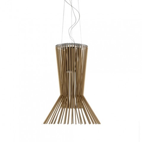 Allegro Vivace Suspension Foscarini Marron