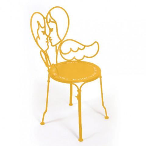 chaise ange fermob miel