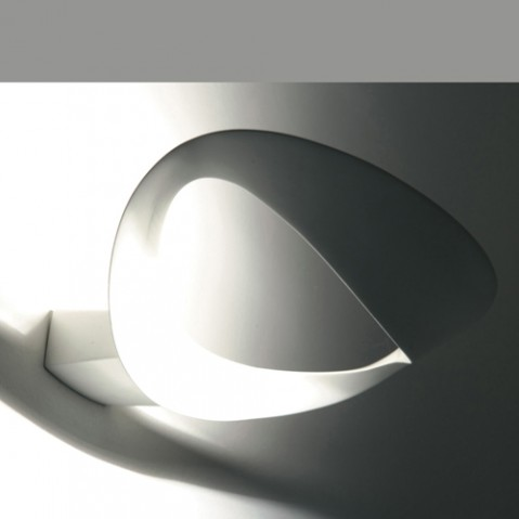 applique murale mesmeri halogene artemide blanc