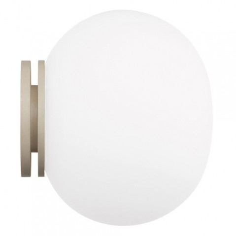 applique murale mini glo ball flos