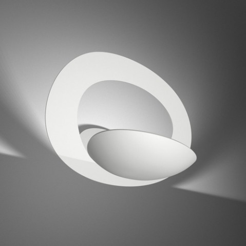 applique pirce artemide blanc