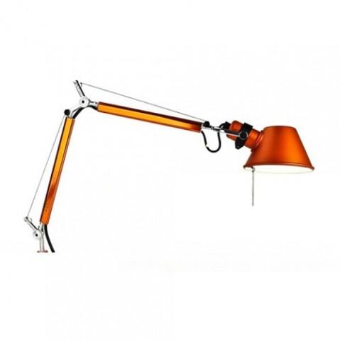 applique murale tolomeo micro artemide orange