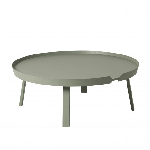 TABLE BASSE AROUND DE MUUTO, EXTRA LARGE, DUSTY GREEN