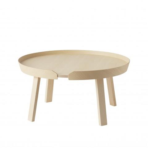 TABLE BASSE AROUND DE MUUTO, LARGE, FRÊNE