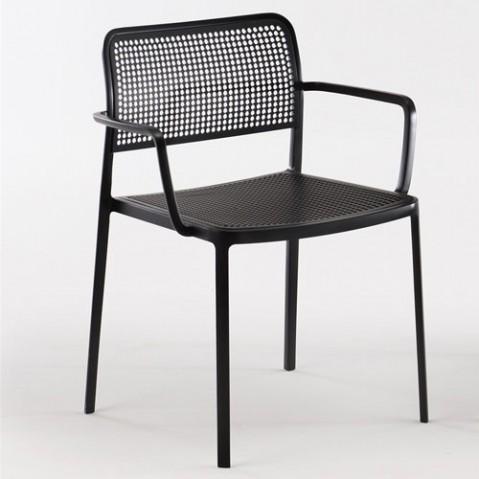 Audrey fauteuil design kartelll noir