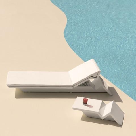 bain soleil rest vondom blanc